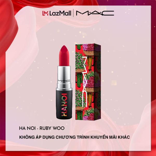 [PHIÊN BẢN GIỚI HẠN] Son môi MAC  Wander.Lust. Hanoi - Retro Matte Lipstick Lipstick Ruby Woo 3g