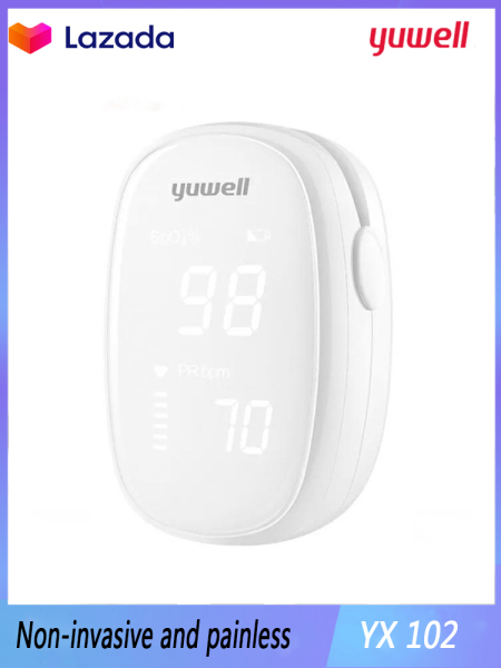 Xiaomi yuwell yx102 original accurate measurement quick analysis compact and portable intimate brightness upgrade chip bán chạy