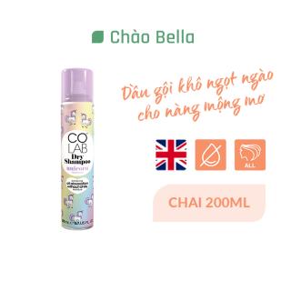 Dầu Gội Khô Colab Hương Cổ Tích Nhiệm Màu Colab Unicorn 200ml - chaobella thumbnail
