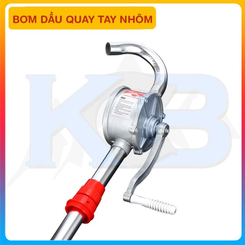 Máy bơm dầu quay tay nhôm phi 32 (VAT)