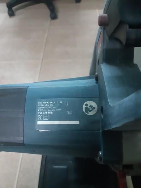 máy căt sắt BOSON , đường kính lưỡi cắt 350mm
