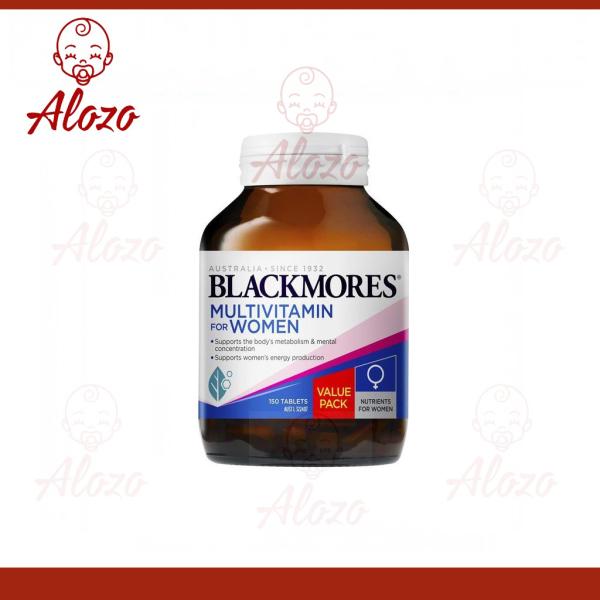 Vitamin tổng hợp cho nữ Blackmores Womens Vitality Multi của Úc, 50 viên nhập khẩu