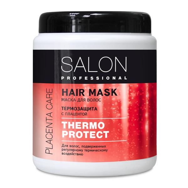 Kem ủ Salon Professional bảo vệ tóc khỏi các tác động nhiệt, ngăn ngừa rụng, giữ màu tóc sau nhuộm 1000ml
