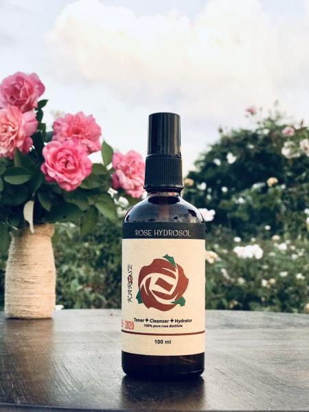 Nước cất hoa hồng nhung cổ nguyên chất KAROSE