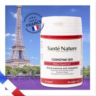 Viên uống hỗ trợ sức khỏe tim mạch Santé Nature Coenzyme Q10 thumbnail