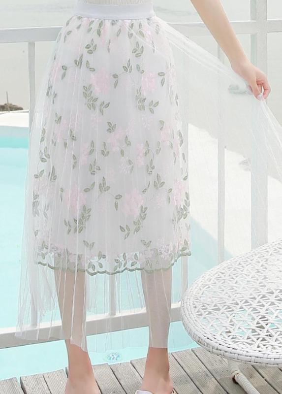 Chân Váy Ren Dễ Thương Kiểu Xòe Hoa Ba Lớp CV005 Shop Mây