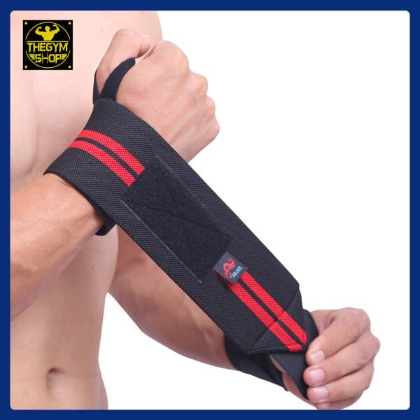 Quấn cổ tay, băng cổ tay, băng bảo vệ cổ tay giảm chấn thương Aolikes (The Gym Shop phân phối) hỗ trợ tập thể thao, thể hình, gym