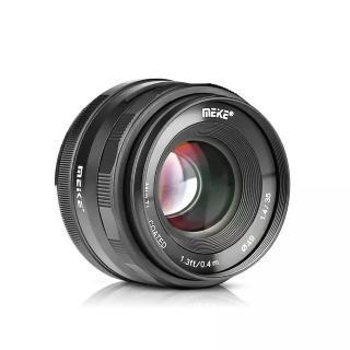 Ống kính Meike 35mm F1.4 lấy nét thủ công cho máy ảnh mirroless Fuji, Sony, Canon thumbnail