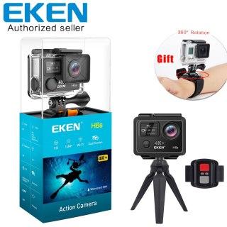 Camera hành động Sport cam chống rung Wifi ULTRA HD EKEN H9R, Bộ sp Camera hành trình eken h9r plus, Eken 4k ultra hd, Camera hành trình eken, Cam hành trình eken thumbnail