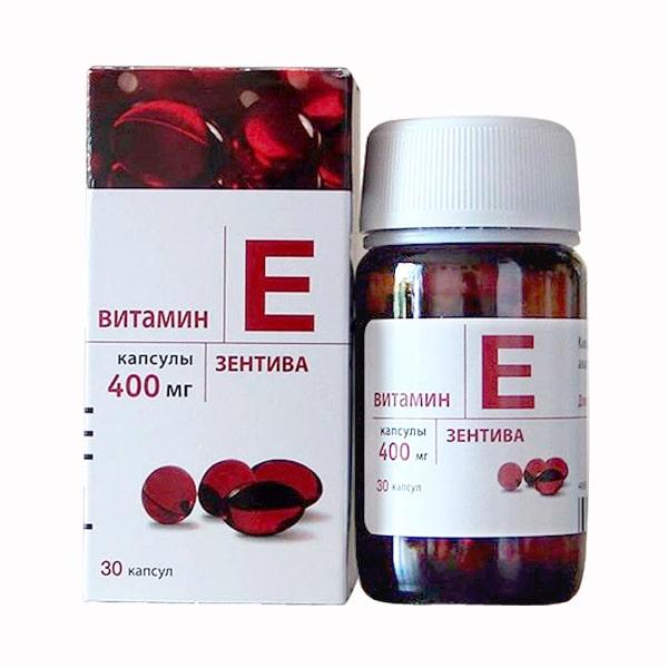 Vitamin E đỏ Nga 400mg ( Mẫu cũ) nhập khẩu