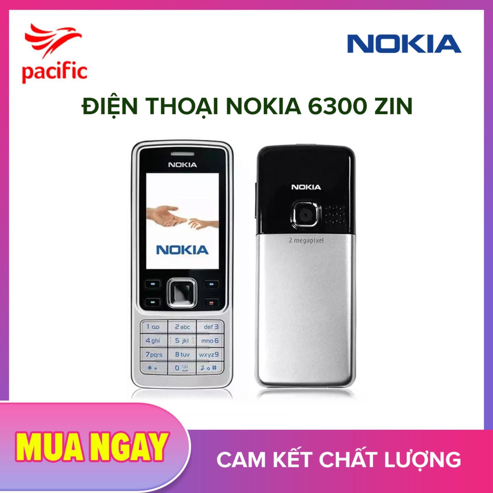 Điện Thoại Nokia 6300 Zin (Tặng Kèm Pin + Sạc) Bảo Hành 2 Năm 2019 - Tặng Tai nghe nhét tai Pacific
