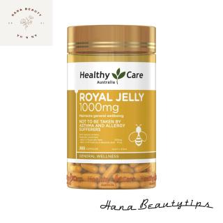 [ Hàng Chính Hãng Úc ] Viên uống sữa ong chúa Healthy care royal jelly 1000mg 365 viên thumbnail