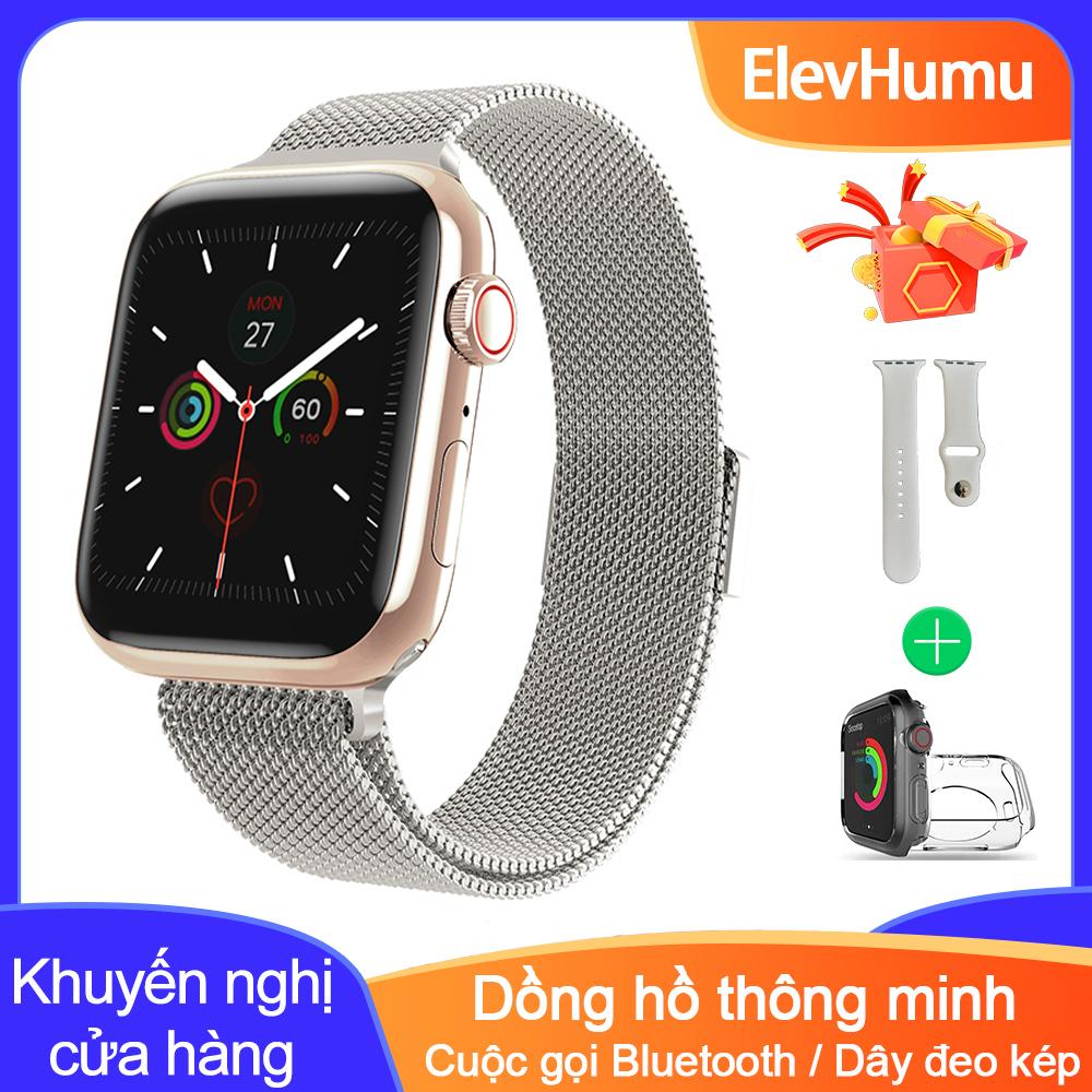 Đồng hồ đeo tay thông minh, màn hình cảm ứng full HD, kết nối bluetooth, chống thấm nước IP67, theo dõi giấc ngủ - INTL