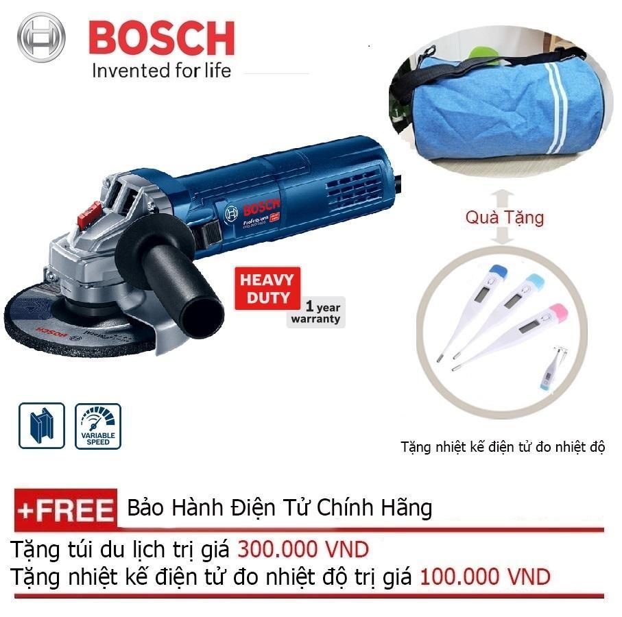 Máy mài góc Bosch GWS 900-125 S + Quà tặng balo du lịch