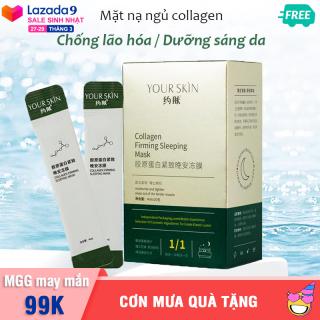[HỘP 20 GÓI] Mặt nạ dưỡng da YOUR SKIN dạng gel chống lão hóa làm sáng da mặt nạ collagen mặt nạ ngủ dưỡng trắng mặt nạ nội địa Trung mask XP-MN311 thumbnail