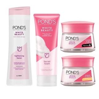 Combo bộ 4 sản phẩm dưỡng trắng da Ponds Beauty White thumbnail
