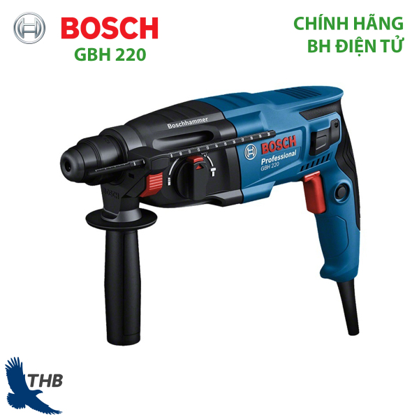 Máy khoan búa Bosch GBH 220