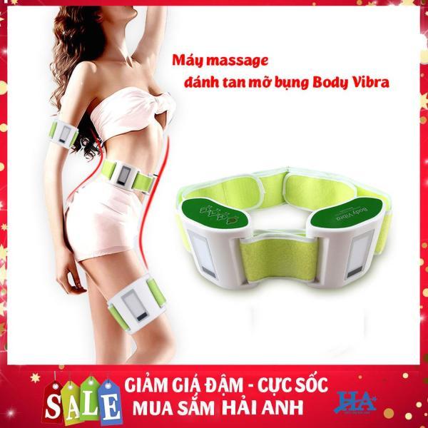 Máy massage bụng, mát xa tay, matx đùi đánh tan mỡ Body Vibra giúp eo thon dáng đẹp GDQUY28