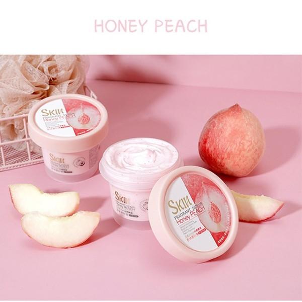 (Hàng mới về)  Gel Tẩy Tế Bào Chết Đào Fenyi Skin Honey Peach 100G