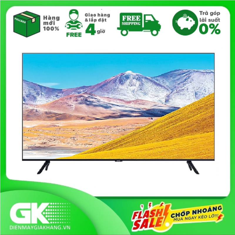 Bảng giá Smart Tivi Samsung 4K 43 inch UA43TU8100