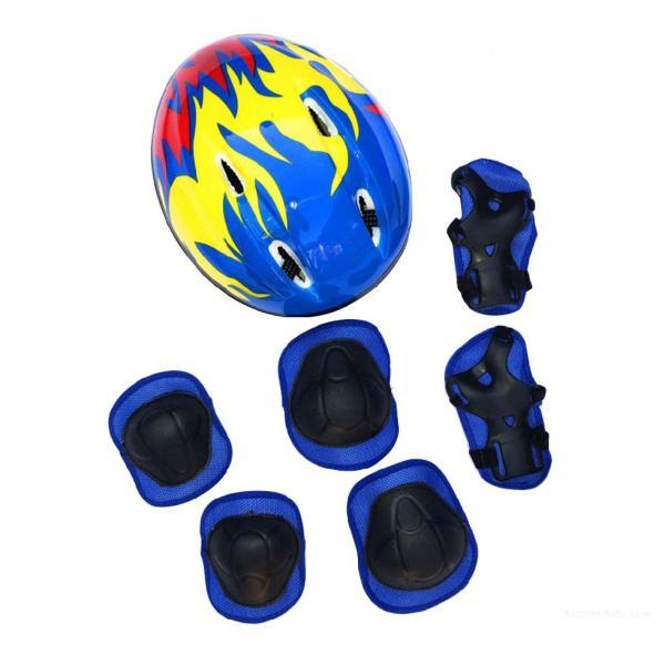 Giá bán Bộ bảo vệ mũ bảo hiểm cho trẻ em Bộ mũ bảo hiểm xe đạp thể thao cho trẻ em Cưỡi / trượt băng / xe tay ga / xe đạp liEDymG7