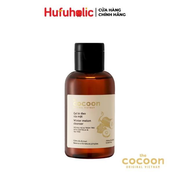Gel bí đao rửa mặt COCOON giảm dầu và mụn ẩn Winter Melon Cleanser 140ml COCN01 giá rẻ