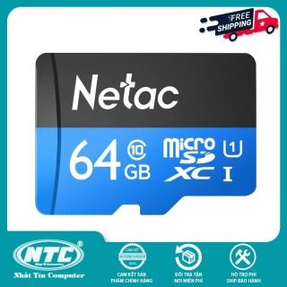 [HCM]Thẻ nhớ MicroSDXC Netac C10 UHS-I U1 64GB 80MB s (Đen) - Hãng phân phối chính thức - Nhất Tín Computer thumbnail