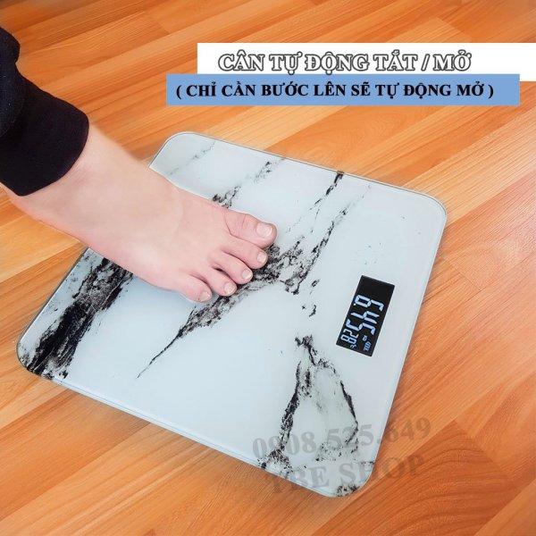 Cân Sức Khỏe Điện Tử Độ Chính Xác Cao & Mặt Kính Cường Lực Chịu Lực Đến 180kg ( Bảo Hành 1 Năm )