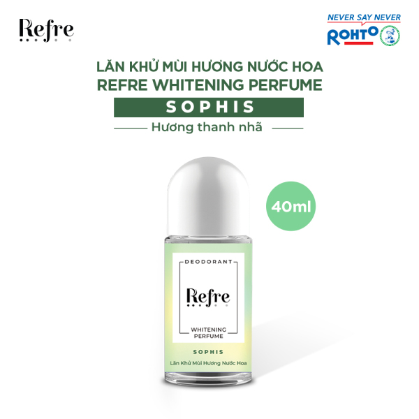 Lăn Khử Mùi Dưỡng Trắng Hương Nước Hoa Refre Whitening - Sophis (40ml)