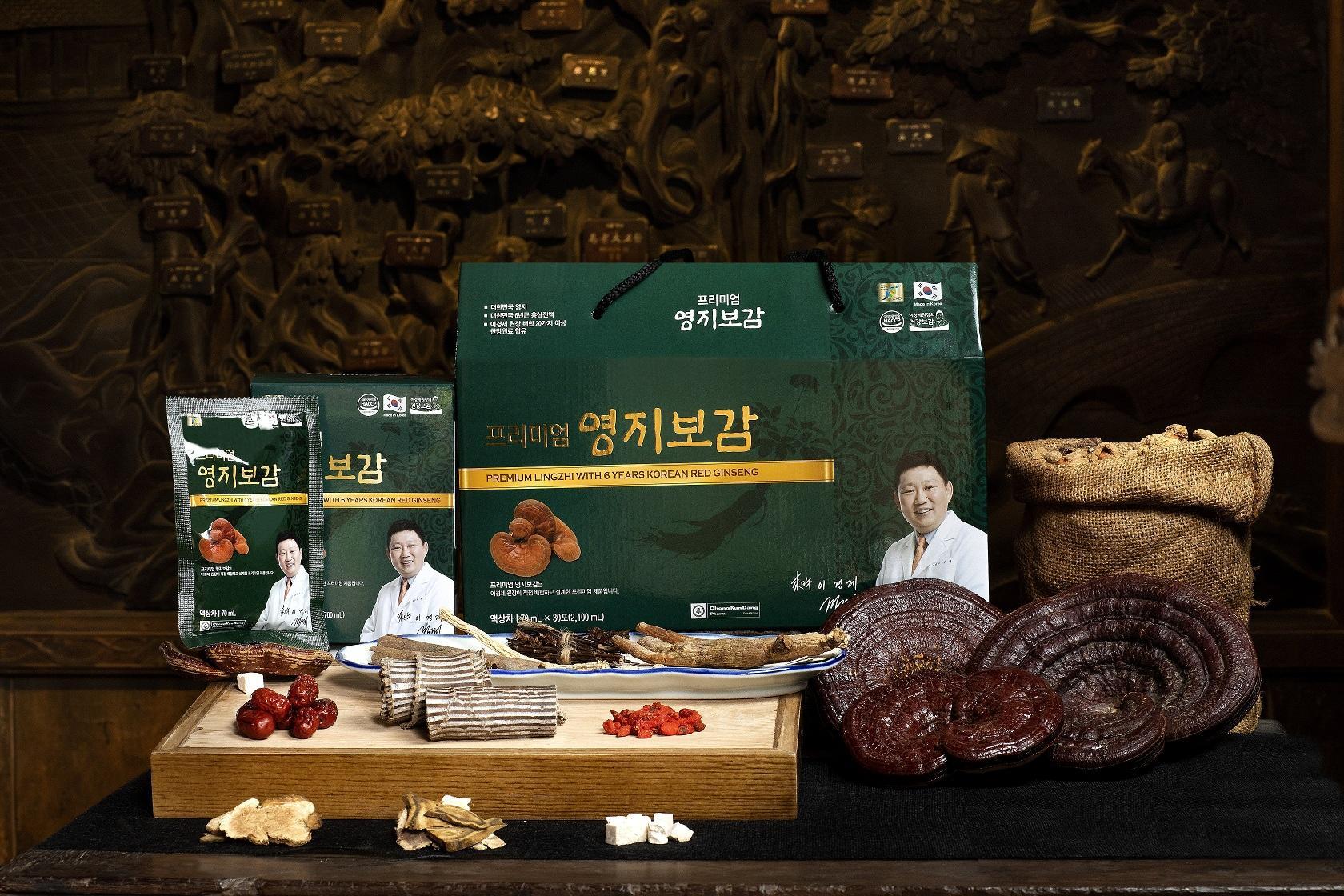 Chiết Xuất Linh Chi và Hồng Sâm Hàn Quốc 6 Năm Tuổi nhập khẩu