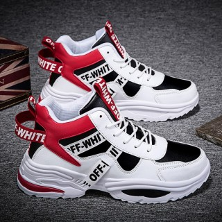 Giày cao cổ nam, giày nam, sneaker nam, giày đế cao thoáng khí MINH HÀ - 386 thumbnail