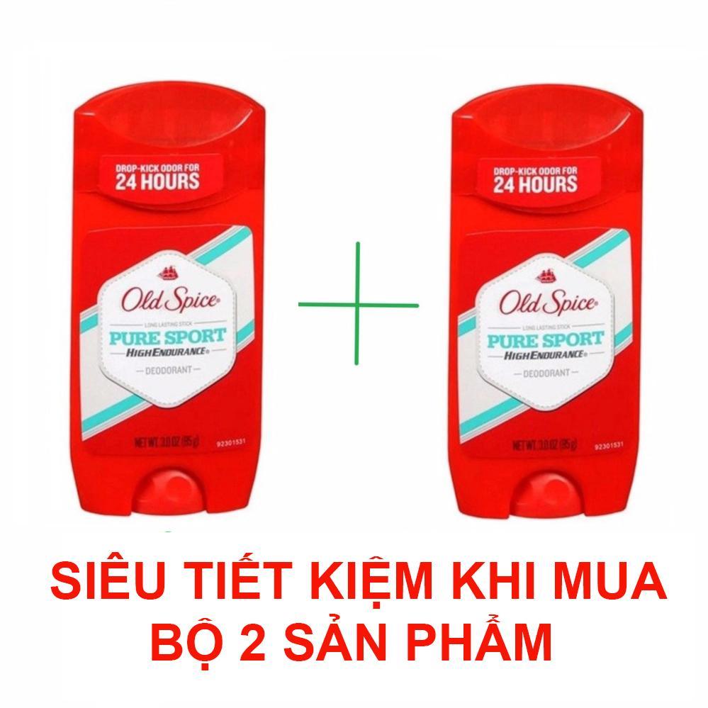 Bộ 2 lăn khử mùi Old Spice Pure Sport High Endurance 85g