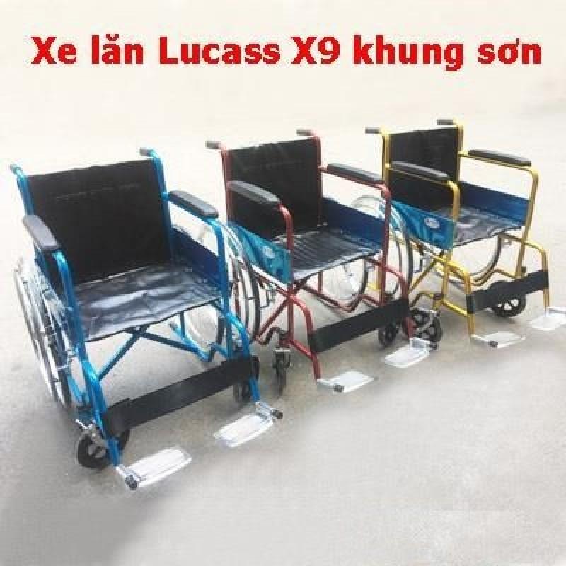 Xe lăn tiêu chuẩn Lucass X9 Xe lăn tay