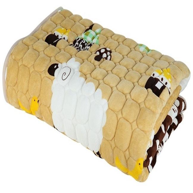 Thảm trải giường lông cừu m6x2m