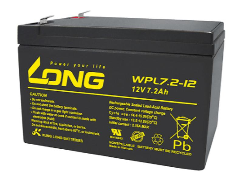 Bảng giá Ắc quy khô Long WP12V - 7.2AH Phong Vũ