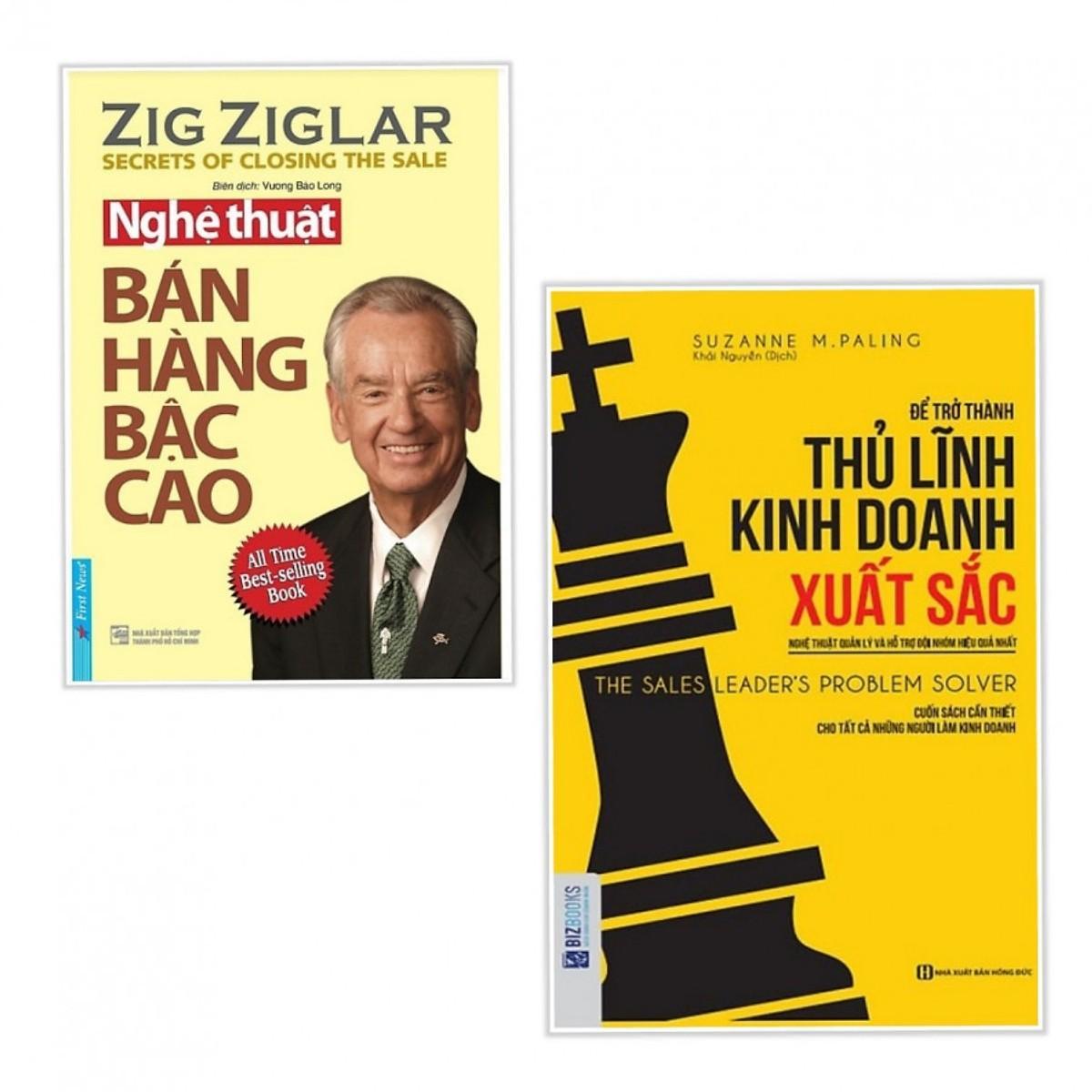 Mua Combo 2 Cuốn Kỹ Năng Làm Việc: Để Trở Thành Thủ Lĩnh Kinh Doanh Xuất Sắc + Nghệ Thuật Bán Hàng Bậc Cao