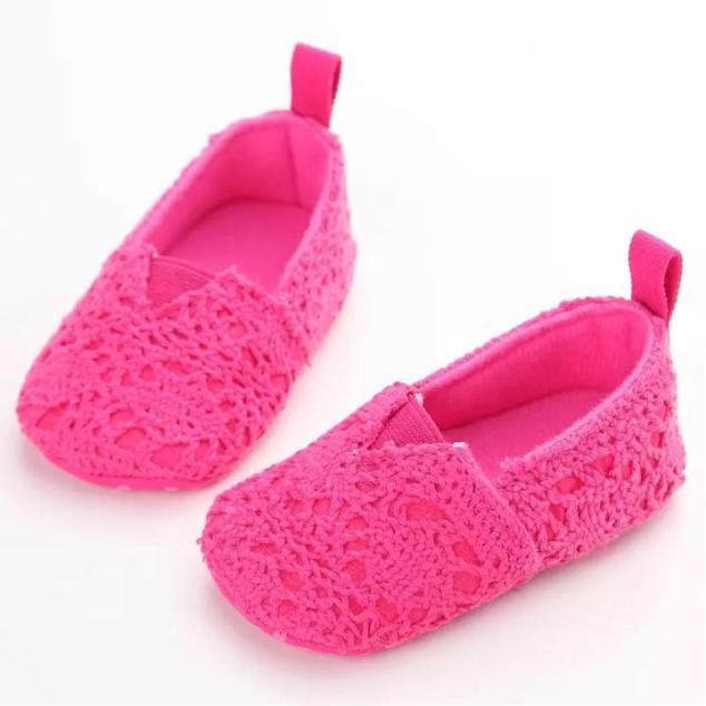 Giày lười tập đi phối ren cho bé 0-18 tháng tuổi màu ngọt ngào đáng yêu BBShine – TD7 giá rẻ