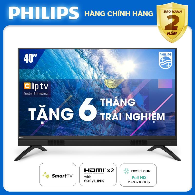 Bảng giá PRESALE SMART TIVI 40 INCH FULL HD KẾT NỐI INTERNET WIFI - hàng Thái Lan - Free 6 tháng xem Clip TV - Bảo hành 2 năm tại nhà - 40PFT5883/74 Tivi Philips