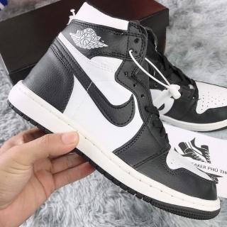 Giày Jordan Panda Đen Trắng Cao Cổ Unisex Basic phối đồ cực dễ thumbnail