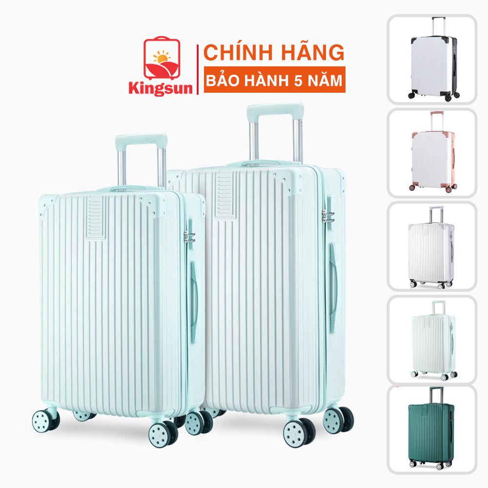 Vali kéo vali du lịch Kingsun size 20/24/28inch thời trang cao cấp KS-155/218-Bảo hành 5 năm