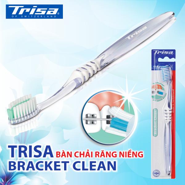 Bàn Chải Đánh Răng Dành Cho Răng Niềng Trisa Bracket Clean