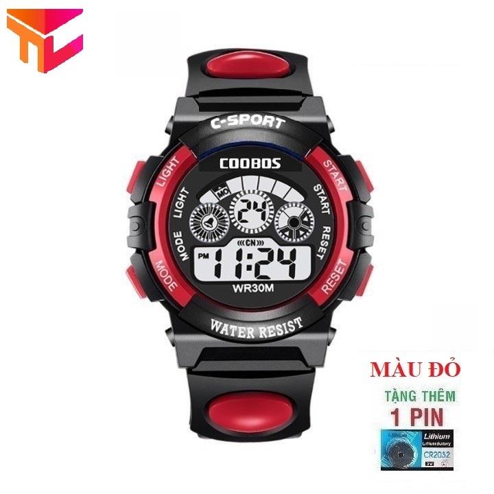 [HCM]Đồng hồ bé trai - Tặng pin - Hình Thật