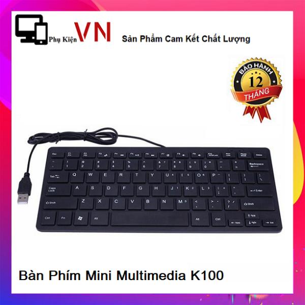 Bảng giá ⚡ Bàn Phím Mini multimedia K1000 - Bàn Phím Mini Keyboard K1000 Siêu Mỏng ⚡ Phong Vũ
