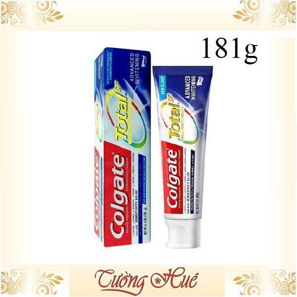 Kem đánh răng Colgate Total Whitening 181g hàng Mỹ giá rẻ
