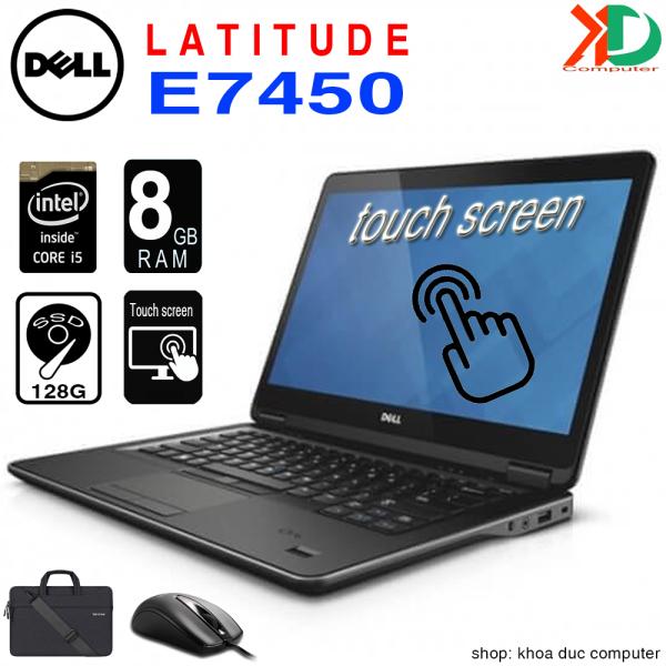 Bảng giá Laptop Dell Latitude E7450 Core i5-5200U, 4gb Ram, 128gb SSD, màn cảm ứng 14inch Full HD Phong Vũ