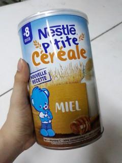 Bột ngũ cốc pha sữa Nestle 8M+ 400g - vị mật ong thumbnail