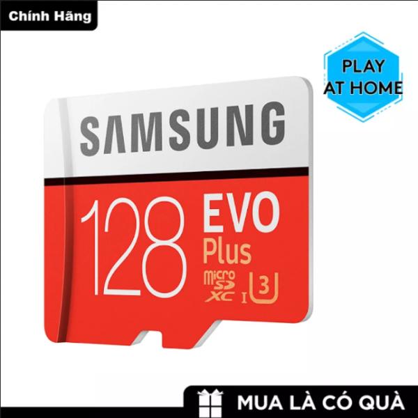 [ Giá Rẻ Bất Ngờ ] Thẻ nhớ MicroSDXC Samsung Evo Plus 128GB U3 4K R100MB/s W90MB/s - Box Anh Thẻ nhớ cho camera wifi, camera hành trình, điện thoại, máy chơi game