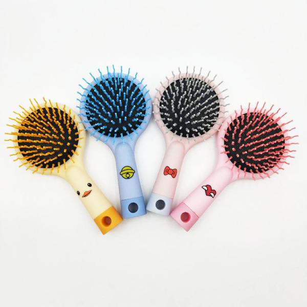 Lược chải tóc rối  hình cầu vồng có gương Clovershop nhập khẩu