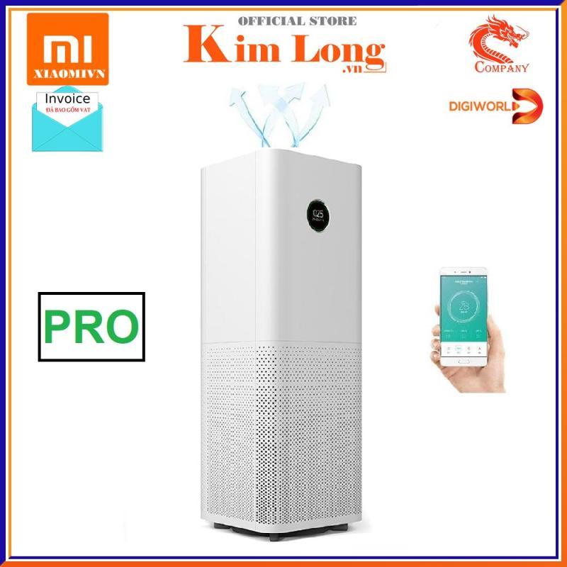 Máy lọc không khí Xiaomi Pro Air Purifier thanh lọc không khí, khử mùi, diệt khuẩn, Bản quốc tế - Bảo hành chính hãng 12 tháng