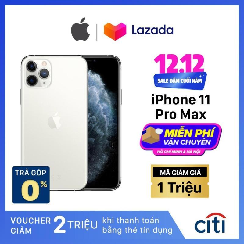 Điện thoại Apple iPhone 11 Pro Max - Hàng Chính Hãng VN/A - Màn Hình Super Retina XDR 6.5inch, Face ID, Chống nước, Chip A13, 3 Camera, Đi Kèm Sạc Nhanh 18W